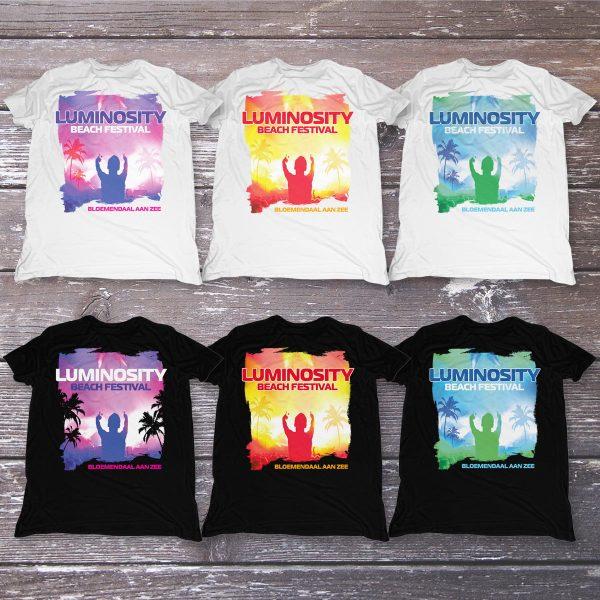 Luminosity Beach Festival DJ T-Shirt