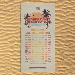 Luminosity Beach Festival 2018 - XXL Beach Towel
