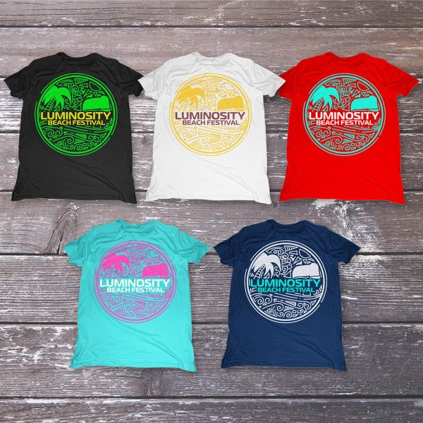Luminosity Beach Festival Circle T-Shirt