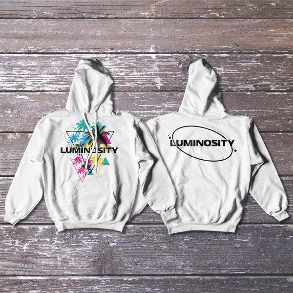 Luminosity Palms Hoodie