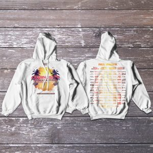Luminosity Beach Festival 2018 Hoodie unzipped