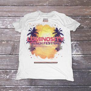 Luminosity Beach Festival 2018 T-shirt