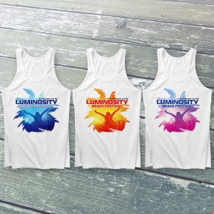 Luminosity Beach Festival Palm Crowd Tanktop