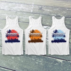 Luminosity Beach Festival Crowd Island Tanktop