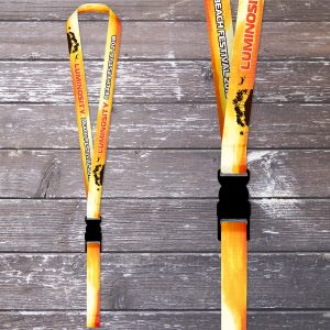 Luminosity Beach Festival 2018 Lanyard