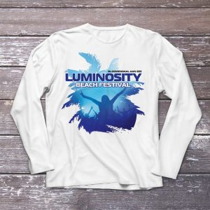 Luminosity Beach Festival Palm Crowd Longsleeve