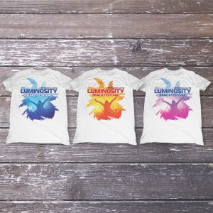 Luminosity Beach Festival Palm Crowd T-Shirt